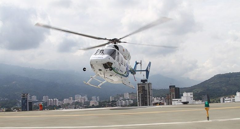 'Al aire' helicóptero medicalizado